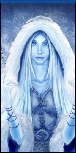 Skadi - goddess of winter